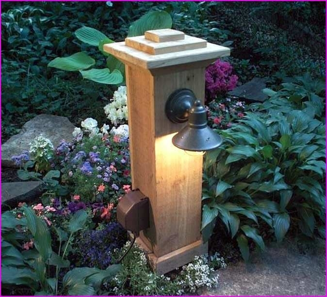Inspiration about Diy Outdoor Lamp Post | Outdoor Decor & Craft | Pinterest | Outdoor Throughout Outdoor Lanterns For Posts (#6 of 15)