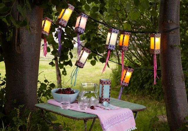Diy Outdoor Lighting Ideas – How To Make Creative Garden Lanterns Throughout Diy Outdoor Lanterns (#13 of 15)