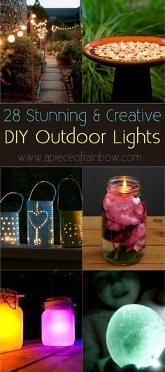 Inspiration about Diy Patio Lights | Laura | Pinterest | Empty, Bright And Summer Within Outdoor Empty Lanterns (#2 of 15)