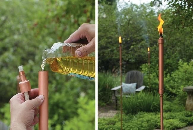 Diy Tiki Torches | The Garden Glove With Regard To Outdoor Tiki Lanterns (View 14 of 15)