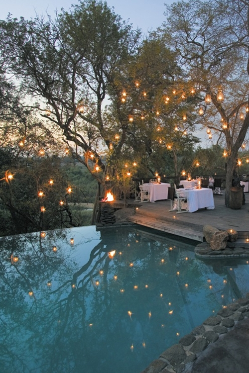 Inspiration about Dreamy Backyard | Great Outdoors | Pinterest | Backyard, Dinners And Within Outdoor Lanterns For Poolside (#12 of 15)