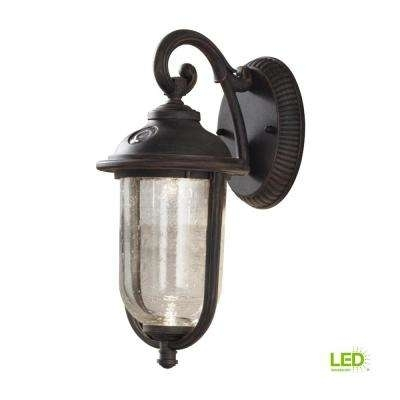 Inspiration about Dusk To Dawn – Hampton Bay – Outdoor Wall Mounted Lighting – Outdoor In Outdoor Lanterns With Photocell (#5 of 15)
