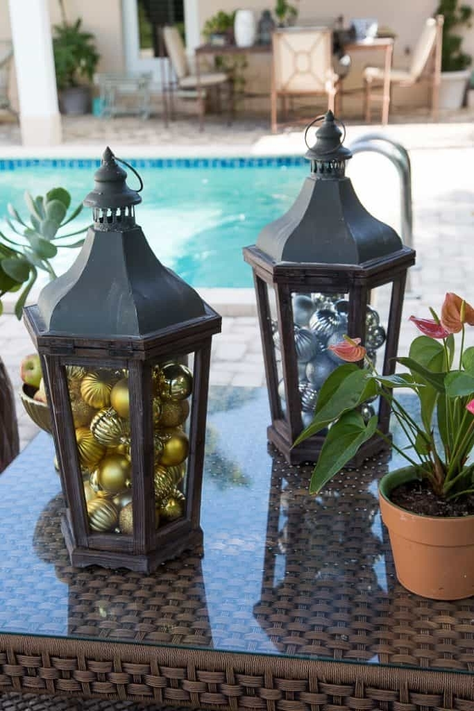 Easy And Practical Outdoor Holiday Entertaining – Florida Style Pertaining To Outdoor Holiday Lanterns (View 9 of 15)