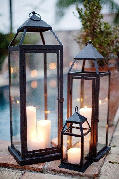 Popular Photo of Elegant Outdoor Lanterns