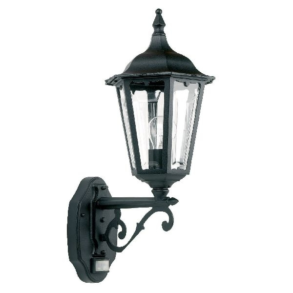 Endon Burford Yg 3004 Pir Sensor Wall Light| Outdoor Lighting Cast For Outdoor Pir Lanterns (#3 of 15)