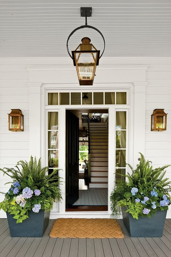Exterior Lighting {Charming Outdoor Lanterns} – The Inspired Room Inside Outdoor Porch Lanterns (#6 of 15)