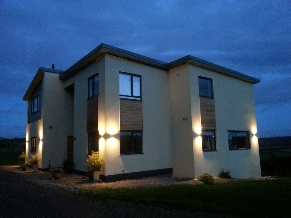 Exterior Lighting For Homes Decorate The Exterior Of You House With Pertaining To Outdoor Lanterns For House (#2 of 15)