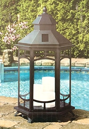 Extra Large Outdoor Lanterns Impressive Manor House Oversized 33 In With Regard To Tall Outdoor Lanterns (View 10 of 15)