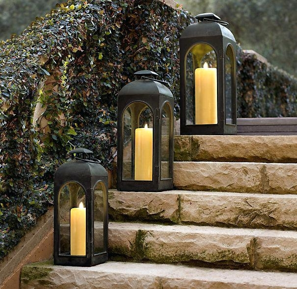 Extra Large Outdoor Lanterns Sensational Impressive For Candles For Outdoor Lanterns (View 14 of 15)