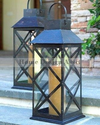 Extra Large Outdoor Lanterns Unbelievable Candle Tall Stainless Intended For Tall Outdoor Lanterns (View 12 of 15)