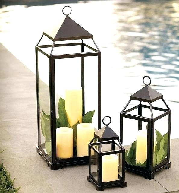 Extra Large Outdoor Lanterns Unlikely Candle Designs Home Interior Throughout Outdoor Oversized Lanterns (View 15 of 15)