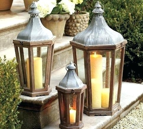 Extra Large Outdoor Lanterns Unlikely Candle Designs Home Interior Within Cheap Outdoor Lanterns (View 10 of 15)