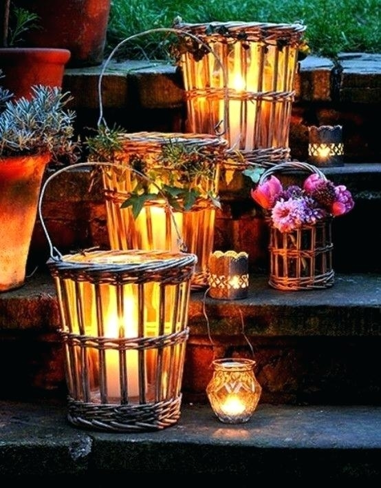 Fall Lanterns Fall Lanterns For Outdoor And Indoor Fall Lanterns Inside Outdoor Orange Lanterns (View 14 of 15)