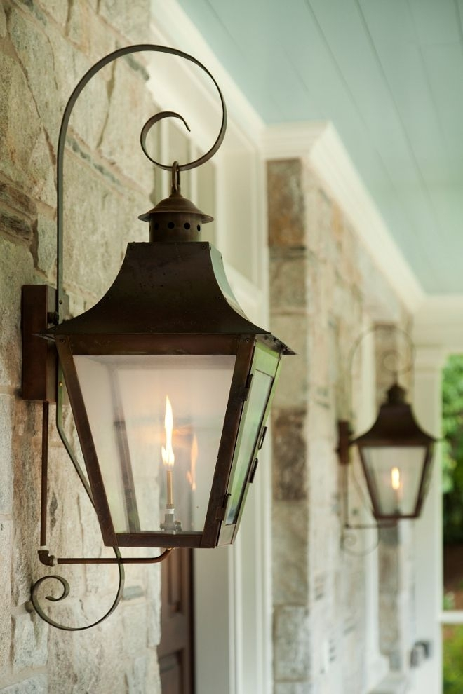 Family Home With Timeless Traditional Interiors | Exterior Home Within Outdoor Gas Lanterns (View 10 of 15)