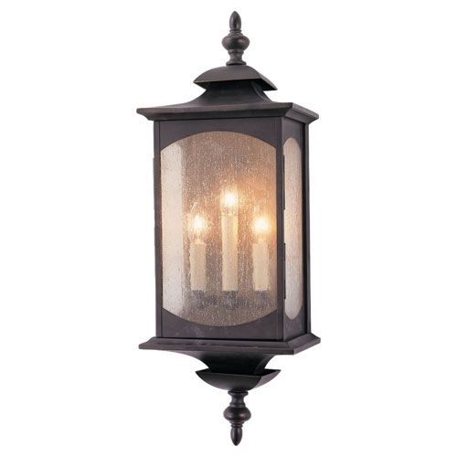 Feiss Market Square Large Outdoor Wall Mount | Exterior Lighting In Large Outdoor Wall Lanterns (View 15 of 15)