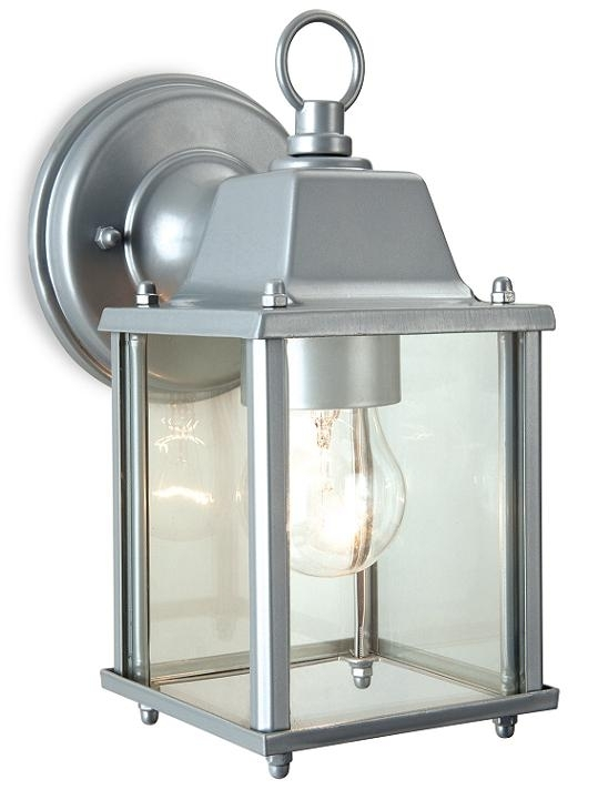 Popular Photo of Silver Outdoor Lanterns