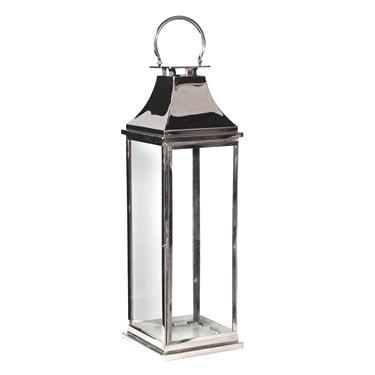 Floor Lantern Tall Chrome Standing Outdoor Lanterns – Eco Homes Throughout Tall Outdoor Lanterns (View 11 of 15)