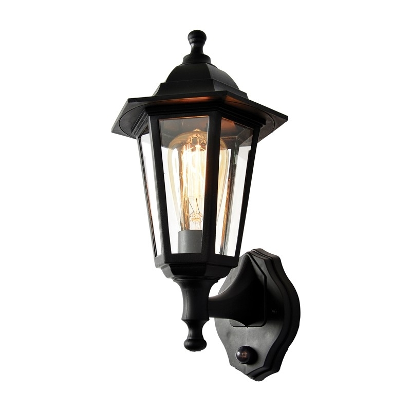 Forum Coastal Bianca Outdoor Lantern Wall Light With Pir Sensor With Outdoor Pir Lanterns (#5 of 15)