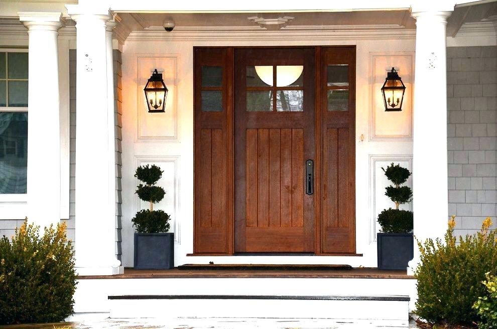 Front Door Light Architects 1 Exterior And Front Door Lighting Front With Regard To Outdoor Door Lanterns (View 2 of 15)