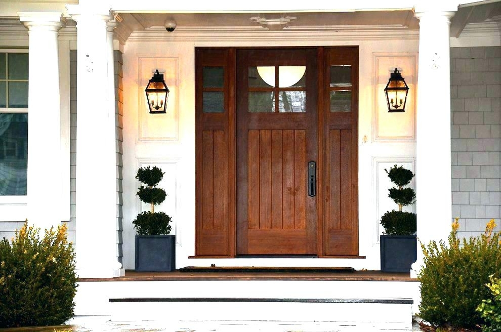 Front Door Light Lighting Images Entry Beach Style With Outdoor Within Outdoor Lanterns For Front Porch (View 6 of 15)