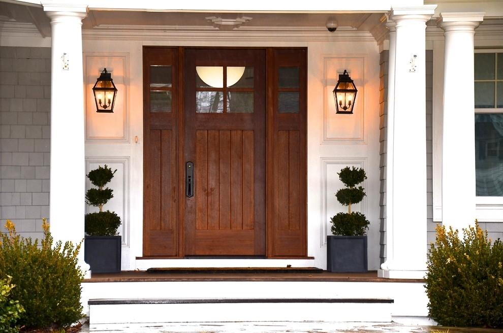 Front Door Lighting Fixtures Black Metal Wall Sconces Lantern Style For Outdoor Door Lanterns (View 7 of 15)