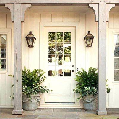 Front Door Sconces Home Front Door Sconces Exterior Lighting Intended For Outdoor Lanterns For Front Door (View 5 of 15)