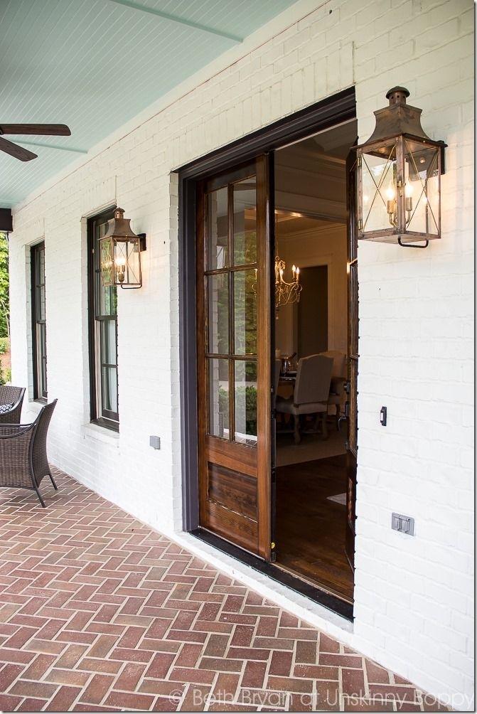 Popular Photo of Outdoor Door Lanterns