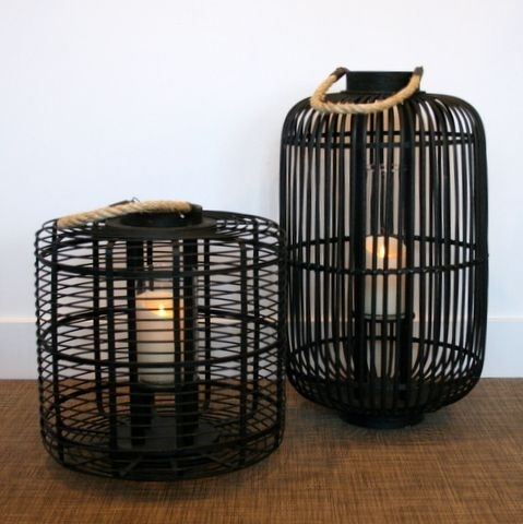 "Inspiration about Fullhouse Consign – Bamboo Lanterns, 18""x18"" And 16""x28"" 
