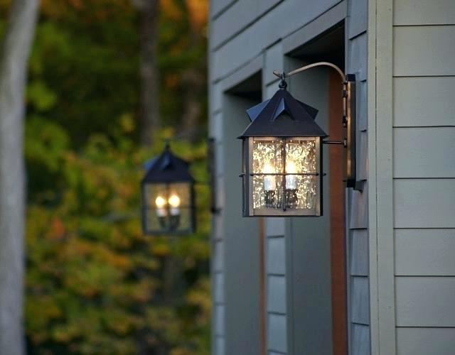Garage Outdoor Light – Home Remodel Decorating For Outdoor Lanterns For Garage (View 5 of 15)