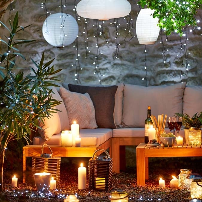 Garden Heating & Lighting Ideas | Argos For Outdoor Lanterns At Argos (View 4 of 15)