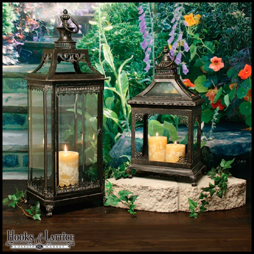 Inspiration about Garden Lanterns, Metal Lanterns & Outdoor Candle Lanterns In Outdoor Rustic Lanterns (#7 of 15)