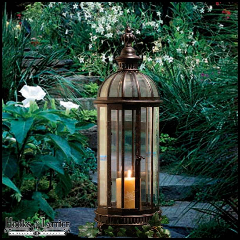Inspiration about Garden Lanterns, Metal Lanterns & Outdoor Candle Lanterns Pertaining To Outdoor Decorative Lanterns (#6 of 15)