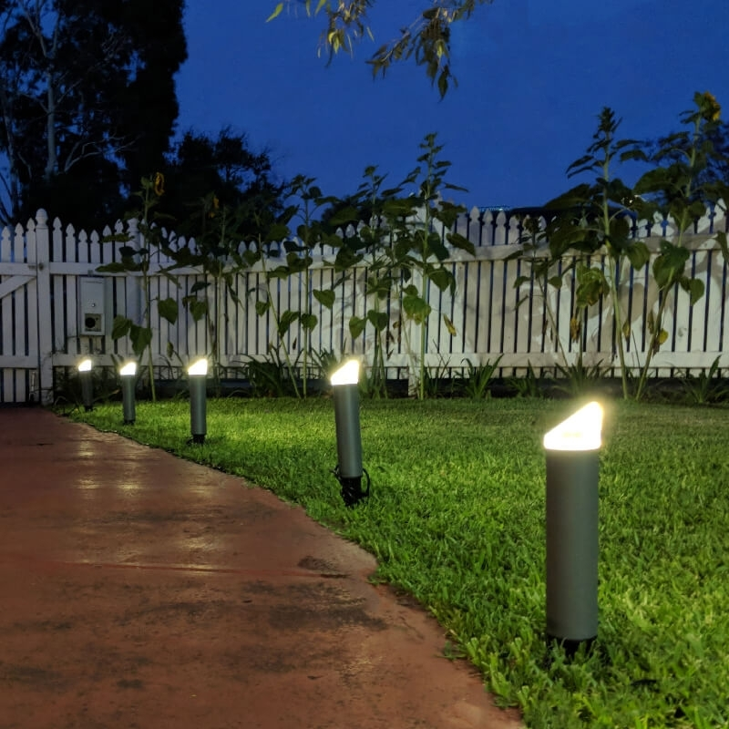 Inspiration about Garden Mains Powered Garden Lights Waterproof Led Garden Lights In Outdoor Mains Lanterns (#14 of 15)