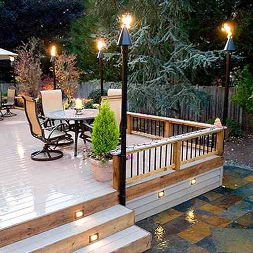 Inspiration about Gas Tiki Torches Inspirational 60 Lovely Graphics Patio Tiki Torches With Regard To Outdoor Tiki Lanterns (#15 of 15)