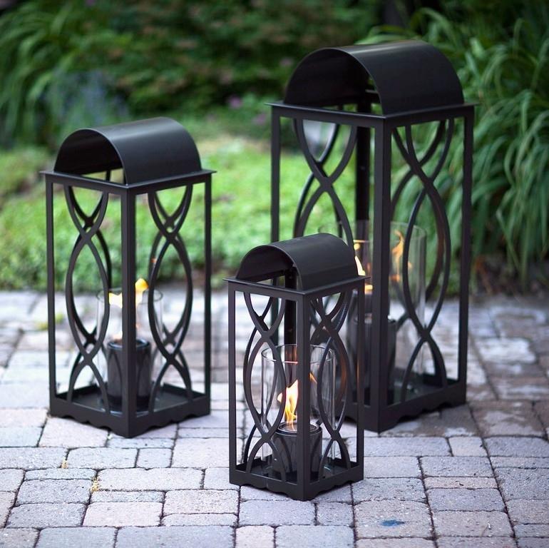 Inspiration about Georgian Lanterns | Bronze Outdoor Lanterns | Allbackyardfun Intended For Metal Outdoor Lanterns (#8 of 15)