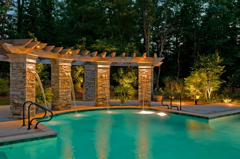 Inspiration about Get Ready For Pool Season With Professional Outdoor Lighting For Outdoor Lanterns For Poolside (#6 of 15)