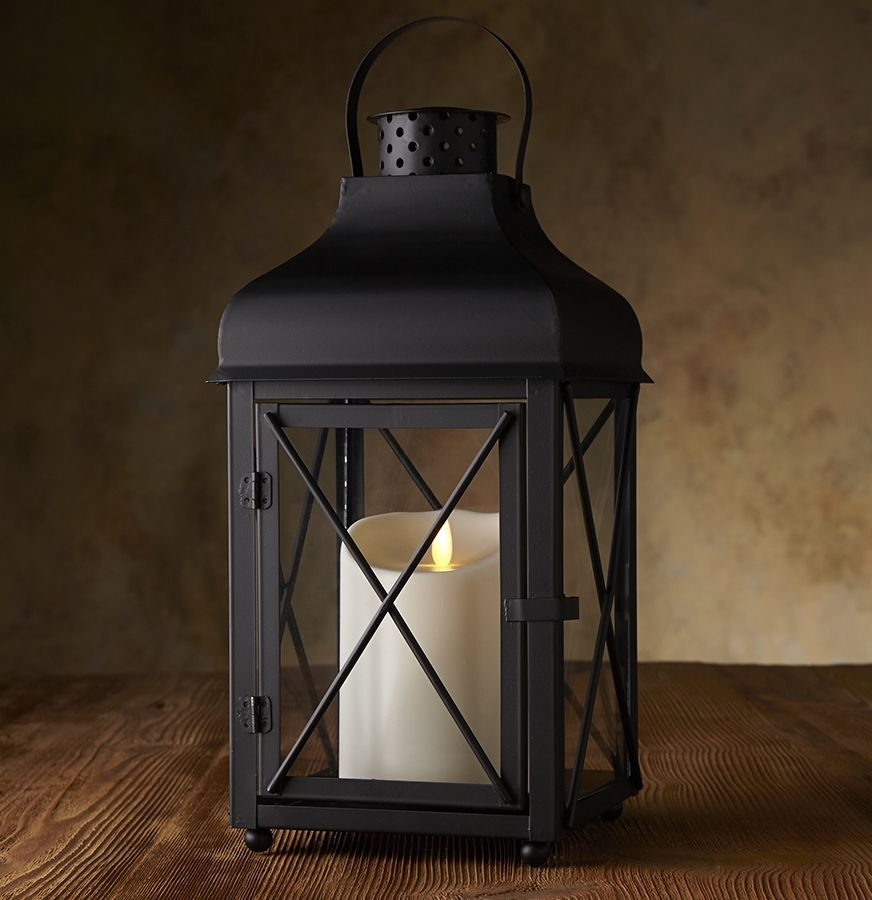 Inspiration about Get The Look Of Beautiful Outdoor Lanterns Without The Risk Of Real Within Outdoor Lanterns Without Glass (#2 of 15)