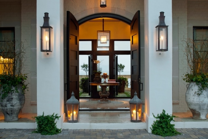Glamorous Large Sconces 2017 Ideas – Large Exterior Wall Sconce Within Large Outdoor Wall Lanterns (View 4 of 15)