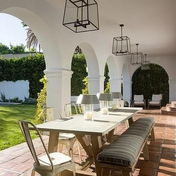 Glass And Iron Outdoor Lanterns Design Ideas Within Outdoor Dining Lanterns (View 5 of 15)