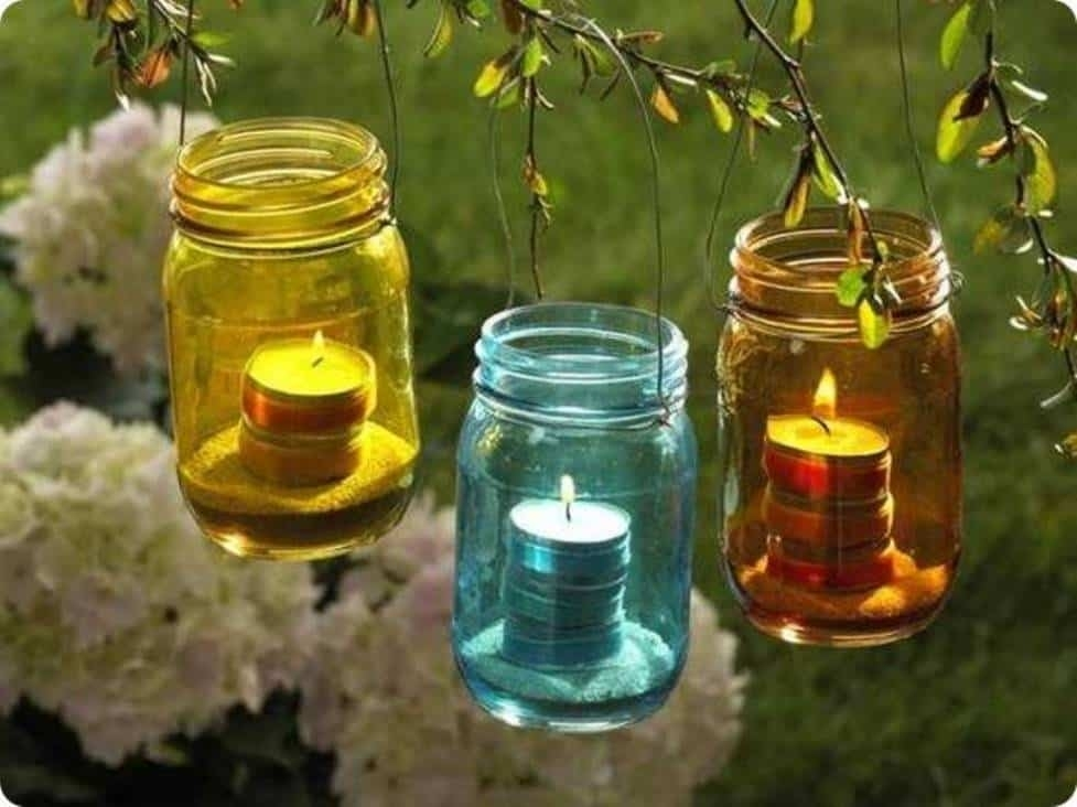Inspiration about Glass Jar Lanterns Outdoor Decoration : Inexpensive Outdoor In Outdoor Jar Lanterns (#3 of 15)