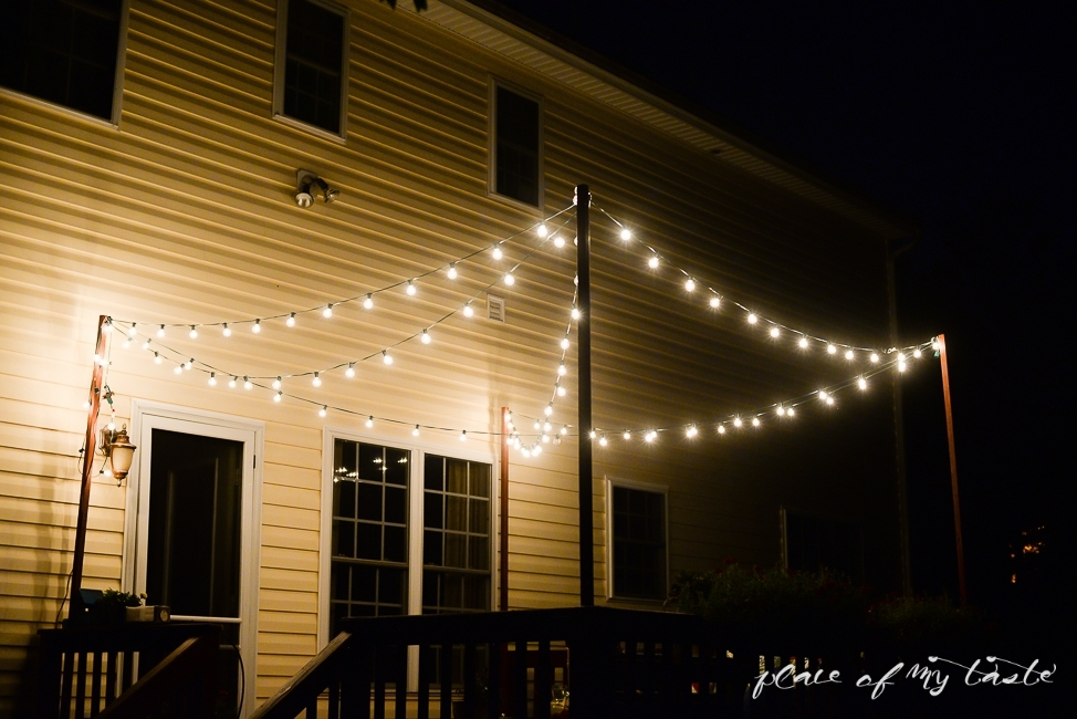 Hang String Lights On Your Deck An Easy Way In Outdoor Lanterns For Deck (View 7 of 15)