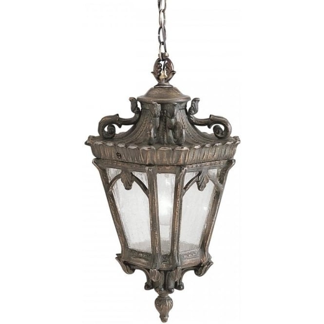 Hanging Front Door Light In Ornate Bronze, Gothic Style, Cast Aluminium With Regard To Victorian Outdoor Lanterns (View 5 of 15)