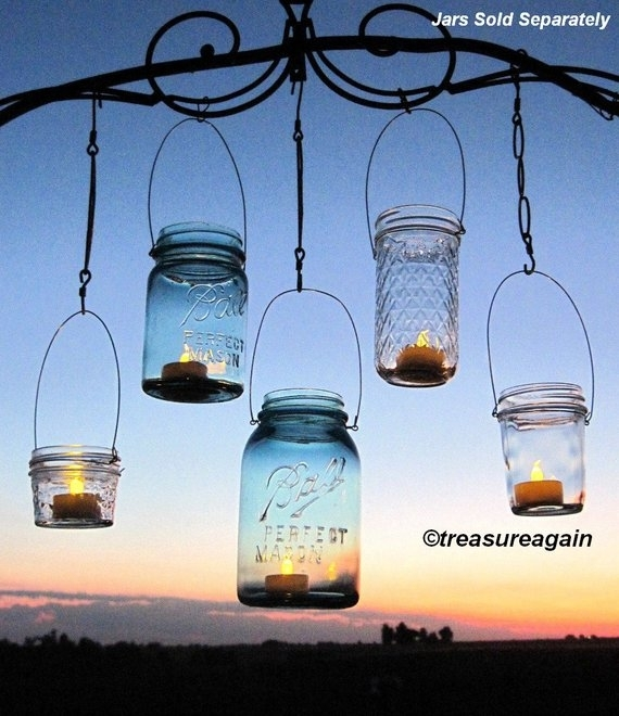 Popular Photo of Etsy Outdoor Lanterns