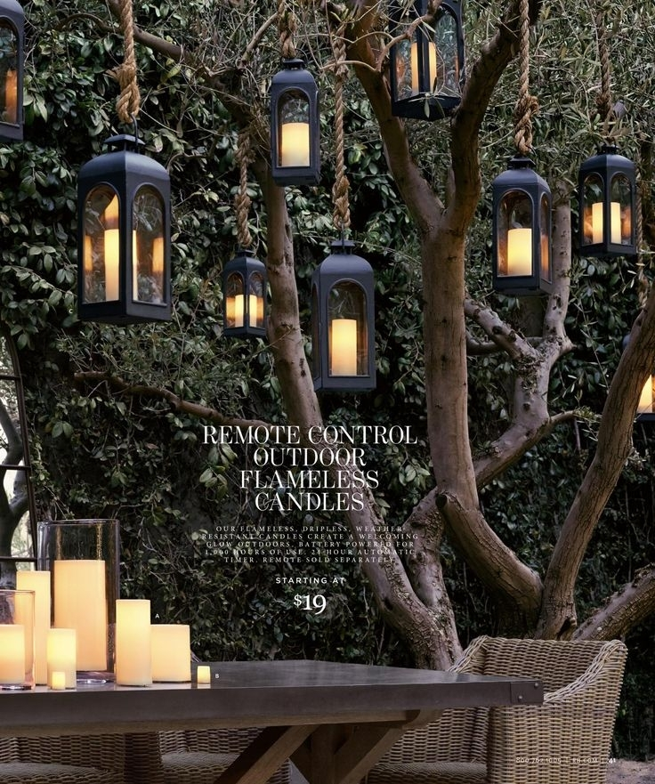 Hanging Lanterns For Trees If I Could Find Something Like This That In Outdoor Lanterns For Trees (View 13 of 15)