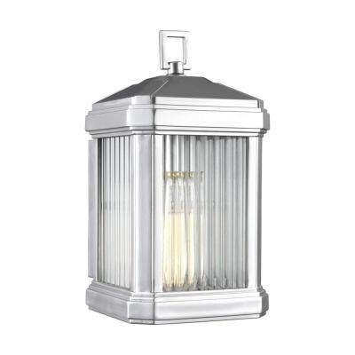 Hardware Included – Rust Resistant – Brushed Nickel – Outdoor Regarding Rust Proof Outdoor Lanterns (View 15 of 15)