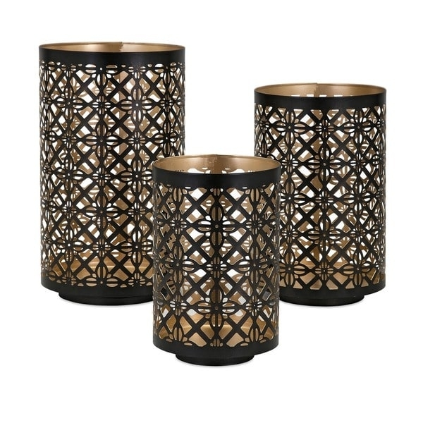 Helena Pierced Outdoor Lanterns (Set Of 3) – Free Shipping Today Within Set Of 3 Outdoor Lanterns (View 5 of 15)