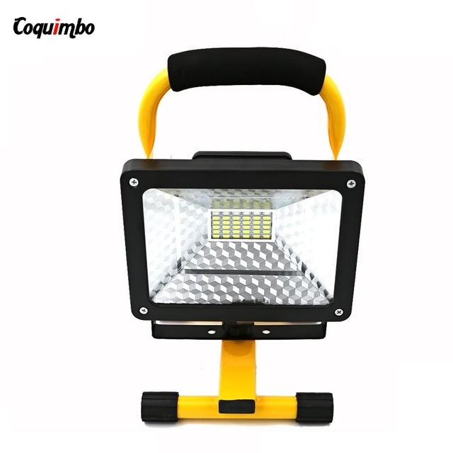 High Quality 2400Lm Portable Work Light Flood 30W Led Camping Light Intended For Quality Outdoor Lanterns (#7 of 15)