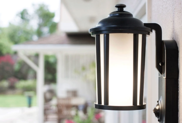 How To Add A Motion Sensor To Existing Outdoor Lights – Asecurecam Within Outdoor Motion Lanterns (#2 of 15)