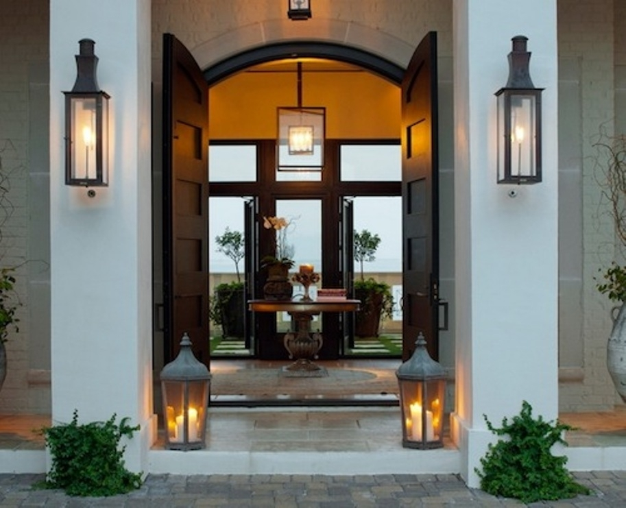 How To Decorate Front Porch Lanterns — Front Porch Light In Outdoor Door Lanterns (View 4 of 15)