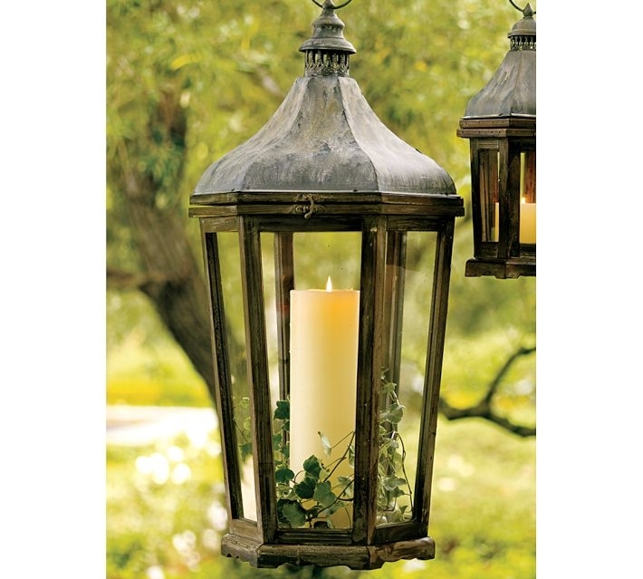 How To Decorate With Outdoor Lanterns | Pebble Lane Living With Regard To Metal Outdoor Lanterns (View 2 of 15)